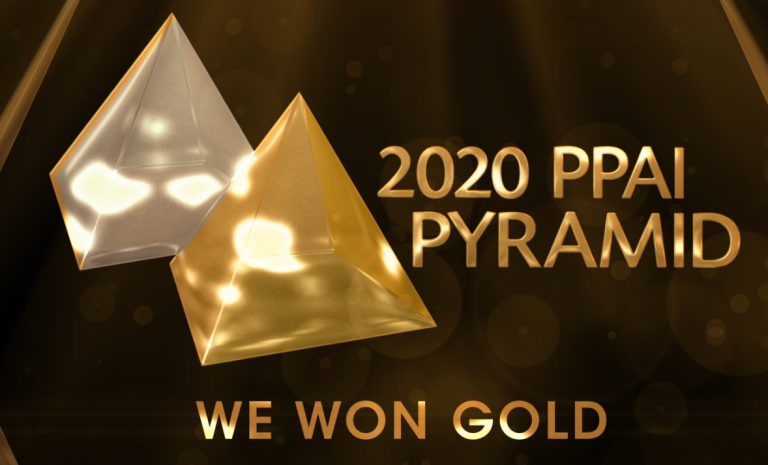 Concepts 2020 PPAI Pyramid Gold Winner