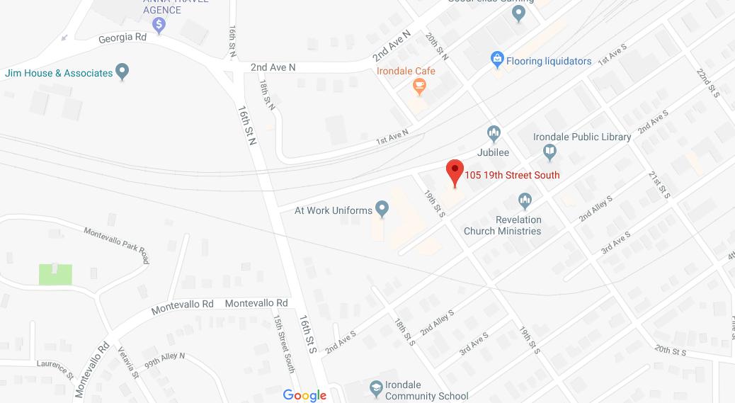 Concepts & Associates map