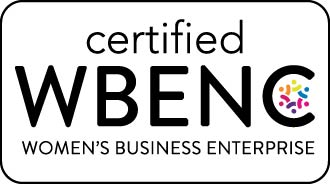WBENC – CERTIFIED WOMAN OWNED BUSINESS